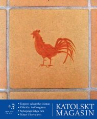 Km 3 2010 - Katolskt Magasin