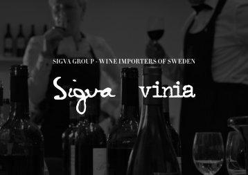 SIGVA GROUP - wIne ImPORteRS Of Sweden - Sigva.se