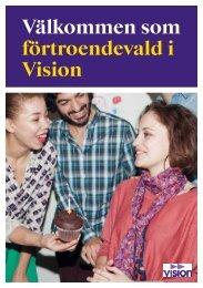 Välkommen som förtroendevald i Vision