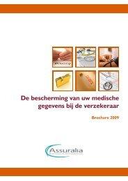 De bescherming van uw medische gegevens bij de ... - Assuralia