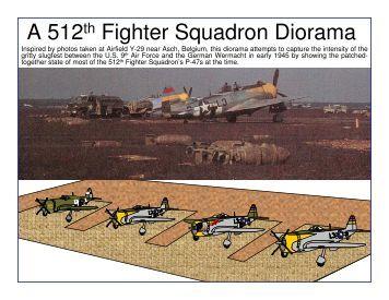 A 512th Fighter Squadron Diorama