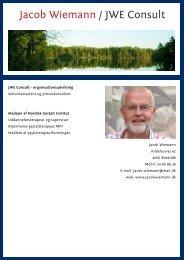 Jacob Wiemann / JWE Consult