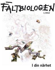 Fältbiologen 1/2012.pdf - Fältbiologerna
