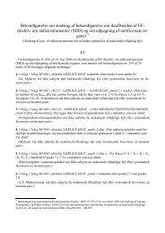 Bekendtgørelse om ændring af bekendtgørelse nr. 436 af 16 ... - Net
