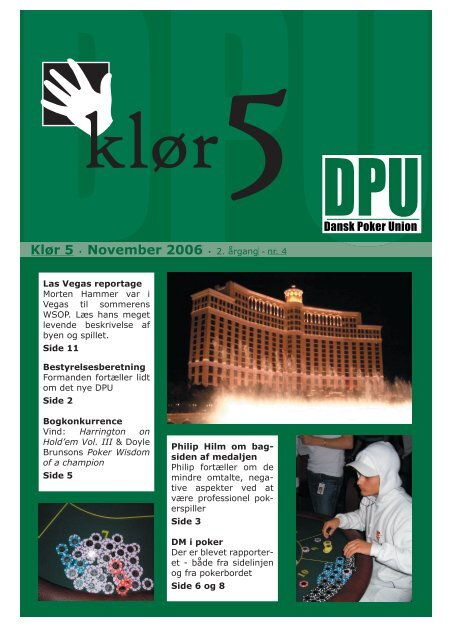 Download bladet her - Dansk Poker Union