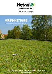 Grønne taGe - Hetag Tagmaterialer