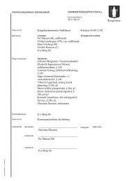 Kommunstyrelsens arbetsutskott 2011-06-21 Kungsbackarummet ...