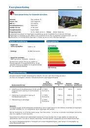 Energimærkningsrapport 24.6.2010 - Haderslev Stift