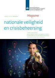 Magazine nationale veiligheid en crisisbeheersing - Nationaal ...