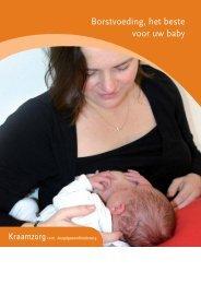 Borstvoeding, het beste voor uw baby - Thuiszorg Pantein