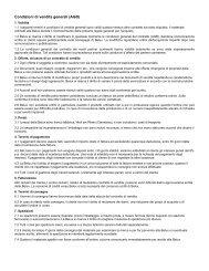 Condizioni di vendita generali (AGB) - Belux