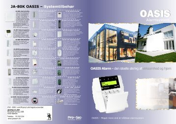 OASIS Alarm - Callnet