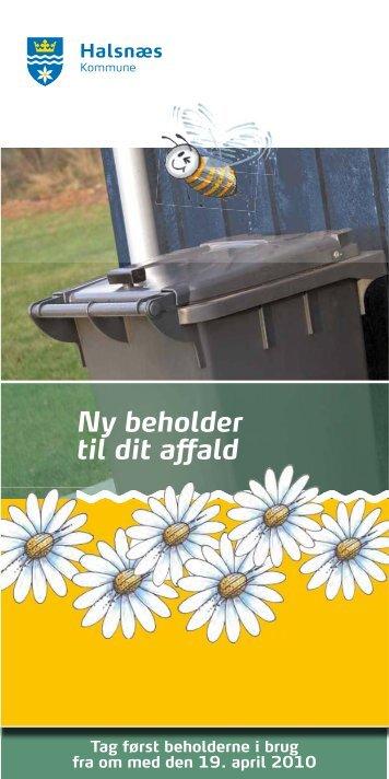 Nye beholdere til dit affald - sommerhuse - Halsnæs forsyning