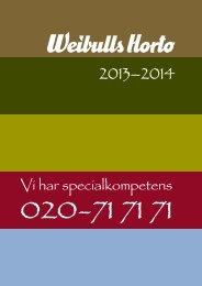 Katalog 2013-2014 - Weibulls Horto