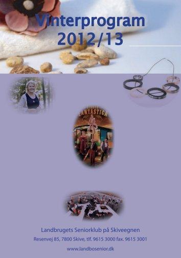 Vinterprogram 2012/13 - Landbosenior