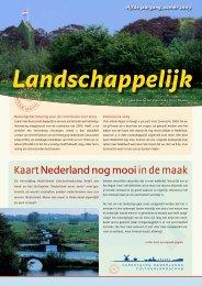 Kaart Nederland nog mooiin de maak - Vereniging Nederlands ...