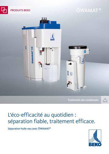 séparation fiable, traitement efficace. - BEKO Technologies Gmbh