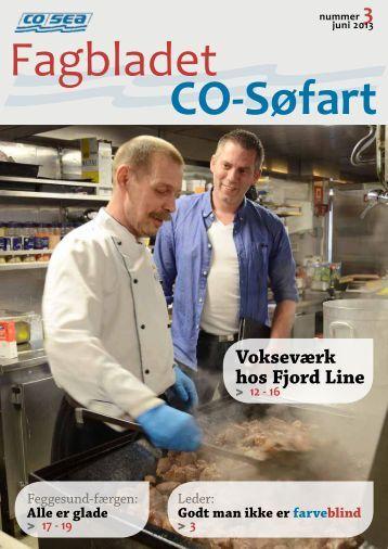 Vokseværk hos Fjord Line - CO-SEA