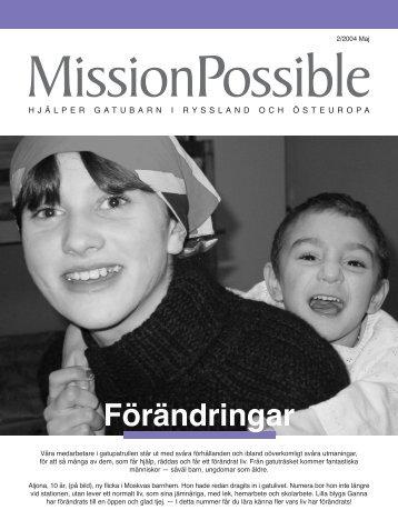 Förändringar - Mission Possible