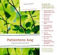 Patientens bog - Sikker Patient