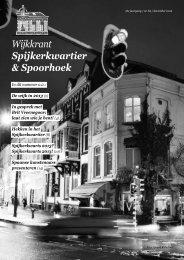 nummer 6 van 2012 - Spijkerkwartier/Spoorhoek