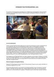 Lees hier het verslag van de openbare fractie ... - LADA 2010