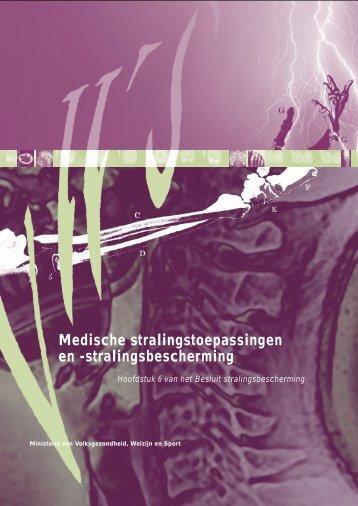 Medische stralingstoepassingen en -stralingsbescherming - VGT