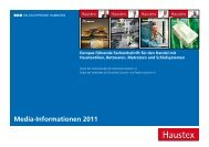 Media-Informationen 2011 - beim SN-Fachpresse Verlag