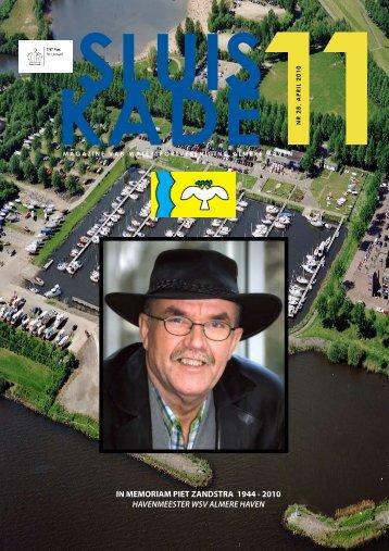 IN MEMORIAM PIET ZANDSTRA 1944 - 2010 ... - Sluiskade 11