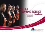 School of Nursing Science - Potchefstroom University