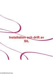 Manual SIL server installation 3.1 - Inera
