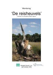 Eindverslag De Reisheuvels 2009 - IVN Bergeijk Eersel