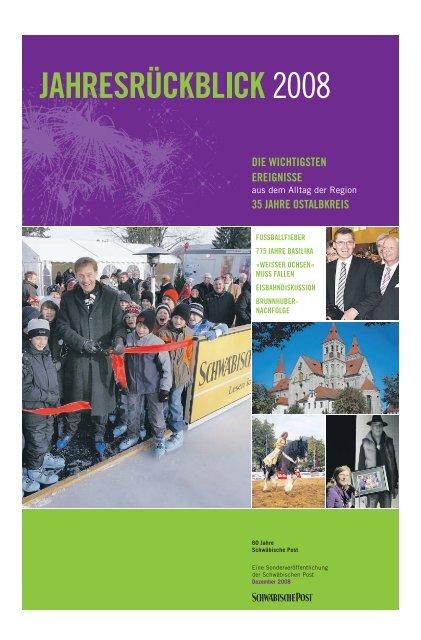 Rueckblick 2008 - Schwäbische Post