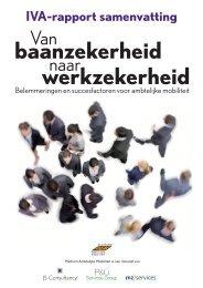 baanzekerheid werkzekerheid - Binnenlands Bestuur