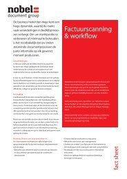 Factuurscanning & workflow - Nobel Document Group