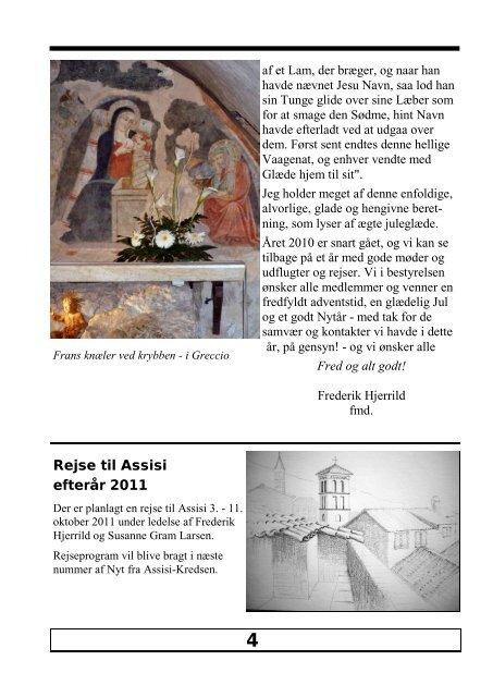 December 2010 nr. 69 Fra La Verna - Assisi-Kredsen