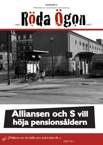 Download (PDF, 4.75MB) - Malmös socialistiska veckotidning