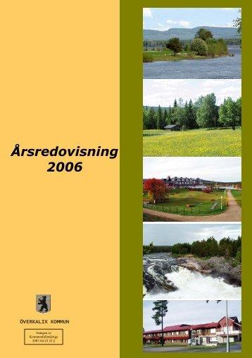 Årsredovisning 2006.pdf - Överkalix kommun