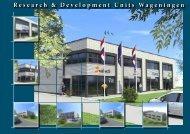 Brochure Research & Developments - De Bunte Vastgoed