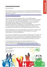 Infoblad - Kommunal