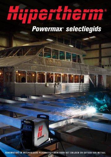 Hypertherm Powermax produktoverzicht uitgebreid - Van Kampen
