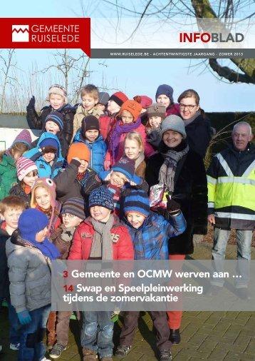 Zomer 2013 - Gemeente Ruiselede