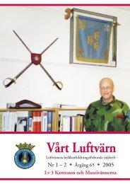 Vårt luftvärn nr 1-2/2005 - Luftvärnsförbundet