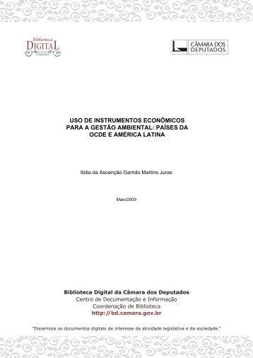 uso de instrumentos econômicos para a gestão ambiental: países ...