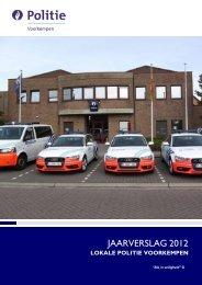 Jaarverslag 2012 - deel 1 - Politie