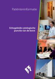 Folder Echogeleide cytologische punctie van de ... - Martini ziekenhuis
