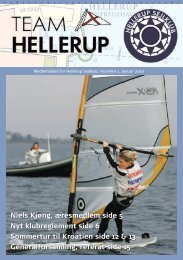 Nummer 1 - Januar 2007 - Hellerup Sejlklub