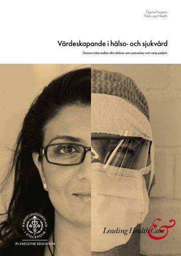 Värdeskapande i hälso- och sjukvård