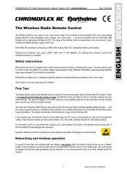 The Wireless Radio Remote Control