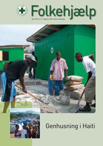 Genhusning i Haiti - Dansk Folkehjælp